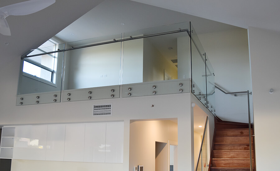 Frameless glass balustrades by the team at Adelaide Balustrading Guys in Adelaide