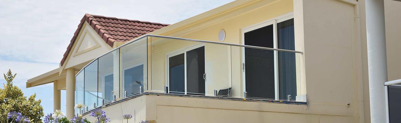 Frameless glass balustrades by Adelaide Balustrading Guys