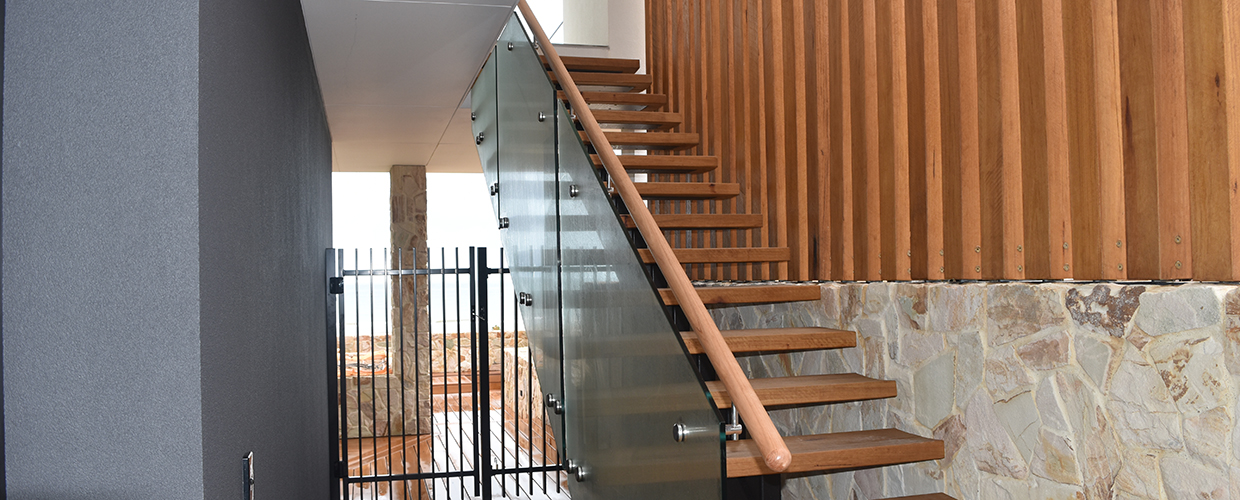 Glass balustrading staircases done by the professionals